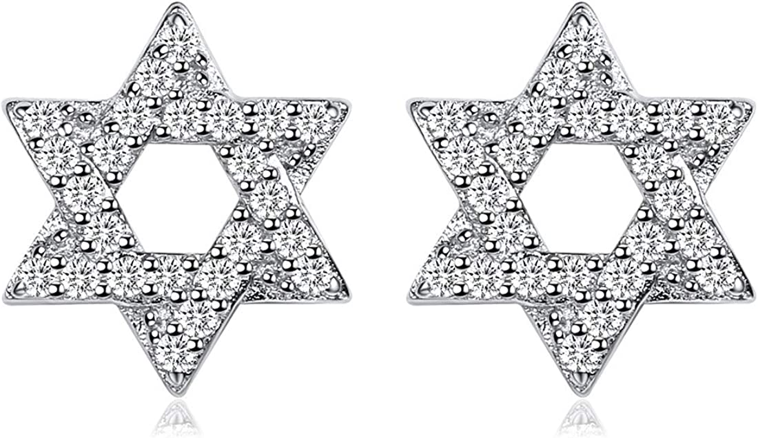 ChicSilver Hypoallergenic 925 Spring new work Sale item Sterling Small Silver Star Dainty