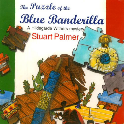 The Puzzle of the Blue Banderilla audiobook cover art