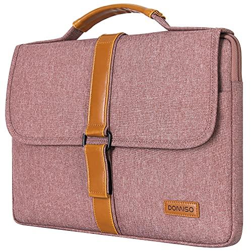 DOMISO Laptoptasche, Laptophülle 15-15.6 Zoll Notebook Klettband Handtasche für 16