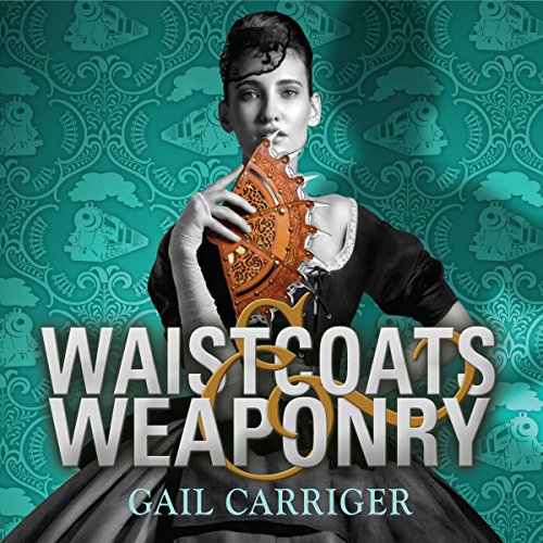 Waistcoats and Weaponry     Finishing School, Book 3              By:                                                                                                                                 Gail Carriger                               Narrated by:                                                                                                                                 Moira Quirk                      Length: 8 hrs and 53 mins     121 ratings     Overall 4.8