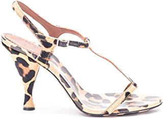 Luxury Fashion | L'autre Chose Women OSL13090CP2104 Brown Leather Sandals | Spring-summer 20