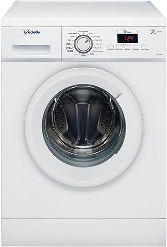 Vedette VLF722W Autonome Charge avant 7kg 1200tr/min A+++ Blanc machine à laver - Machines à laver (Autonome, Charge ...