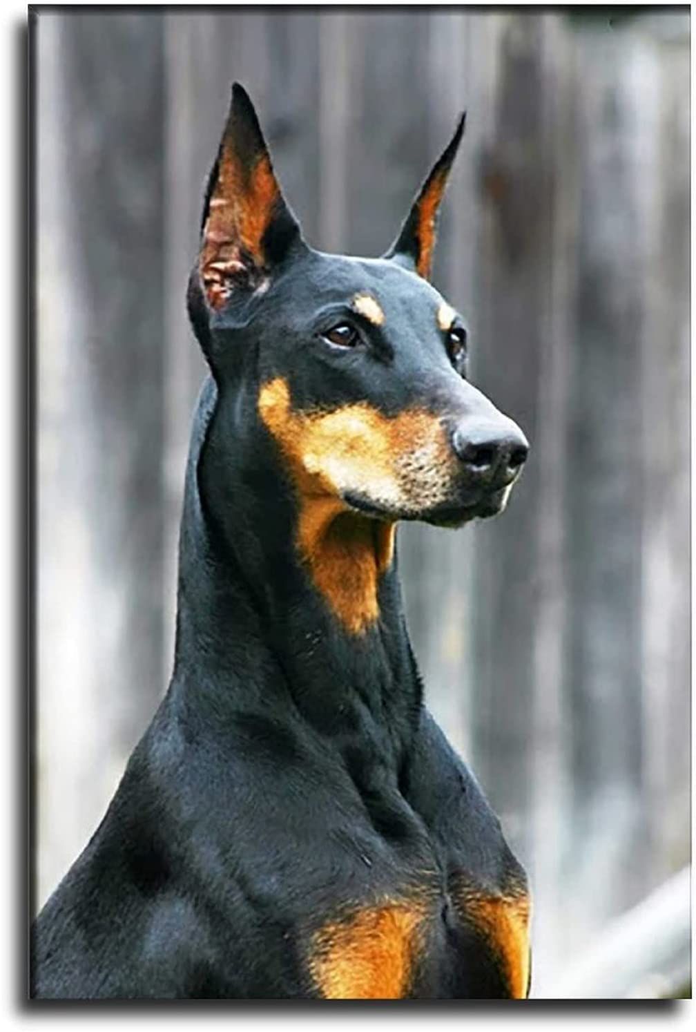 ZHUOLIN Baby Room Decoration Popular shop is the lowest price challenge Cute Doberman Max 47% OFF Animal Poster Decorat