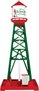Lionel 684797 Christmas Industrial Tower, O Gauge, Red, Green, White, Brown, black
