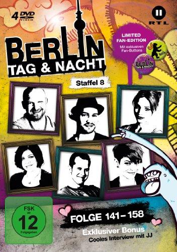 Berlin - Tag & Nacht, Vol.  8: Folgen 141-160 (Fan Edition) (4 DVDs)