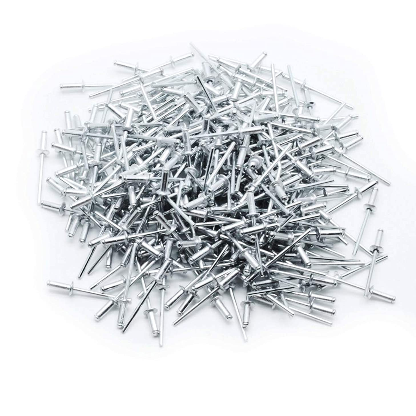 Autoly Steel Rivet 1/8 x 3/8 Inch Blind Rivets by Bolt Dropper, 400-Pieces
