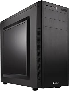 Corsair CC-9011075-WW Carbide Series 100R Windowed Mid-Tower ATX Computer Case- Black