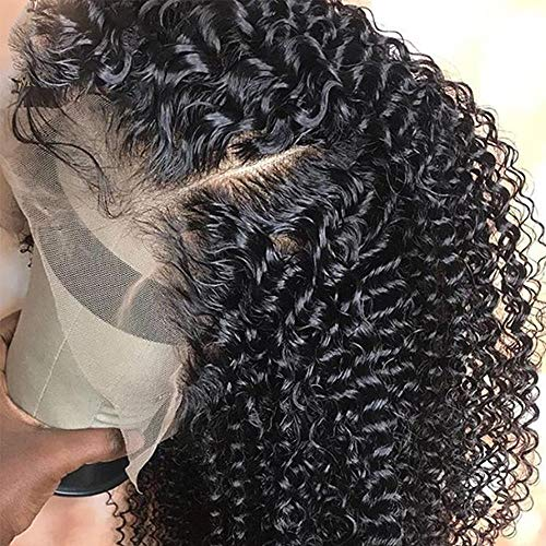 Kinky Curly Wig Full Lace Human Hair Perücke mit Baby Hair Mongolisches Afro Kinky Curly Full Lace Front Human Hair Perücke 14inches Perücke, mit Spitzen