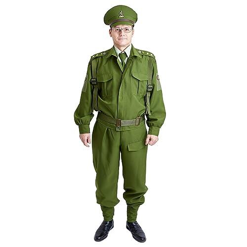 Charm Rainbow Menu0027s WW2 Uniform British Army Costume For Halloween Theme  Party
