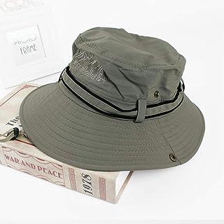 日曜日の帽子日曜日の帽子UPF 50+男女兼用メンズレディースリバーシブルブレンドのバケツの漁師の帽子(色:T8)