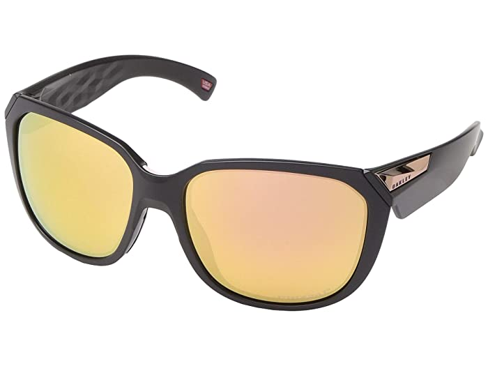 Oakley 59 mm Rev Up (Matte Black) Fashion Sunglasses