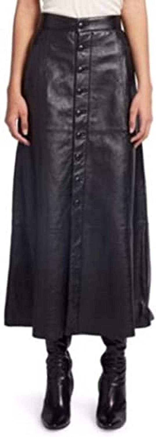 LL LEATHER LOVERS Leather Full Skirt for Women - Regular Use Slim Fit Bodycon Skirt - Office, Weekend, Business Wear for Girl