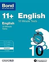 بوند 11+: الانجليزية: 10دقيقة الاختبارات
