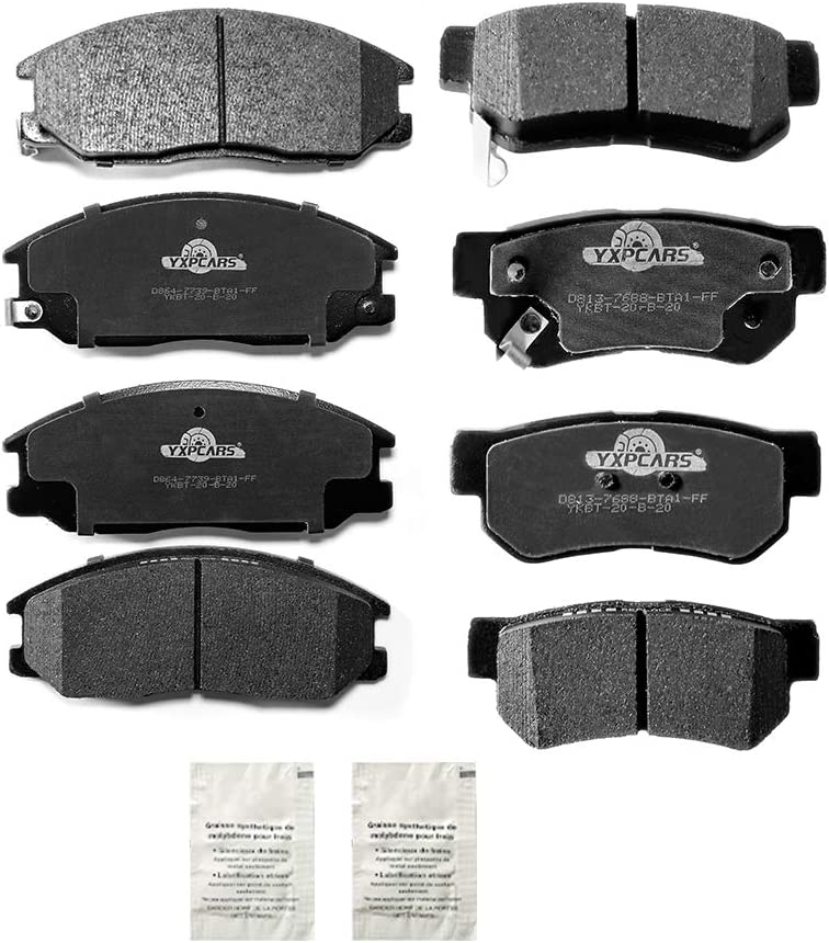 YXPCARS Manufacturer direct delivery Front Rear Ceramic Brake Pads - Super sale D864 For D813 200 2001