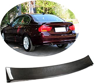 MCARCAR KIT Roof Spoiler fits BMW 3 Series E92 320i 323i 325i 328i 330i 335i M3 Coupe 2006-2013 Factory Outlet Carbon Fiber CF Rear Window Top Wing Lip