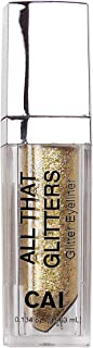 Cai Glitter & Glow Long-lasting Sparkling Party Makeup Liquid Eye Liner (GOLD)