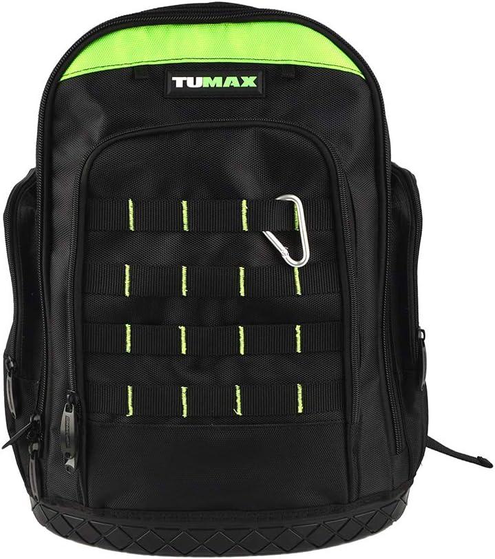 Tool Bag Denver Mall Backpack Heavy Duty OFFer Rugged Jobsite Waterproof