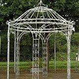 Pavillons, Garten Pavillon, Metall Pavillon, Pavillon Stahl, Rankpavillon Amalia Ø 250 cm (Schwarz Bergolin)