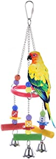 Acrylic Stand Bracket Triangle Climbing Toy For Parrot Bird Cage
