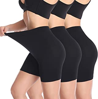 Women's Safety Seamless Smooth Comfortable Slip Shorts for Under Dresses Stretch Anti Chafing Panties