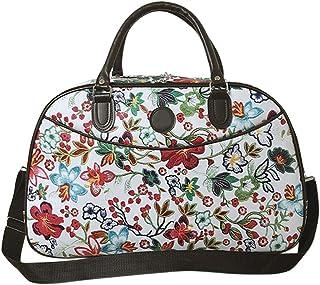 Ladies Womens Travel Holdall Overnight Shoulder Duffle Bag Flight Bags - Hiking Camping Luggage Shoulder Handbag BESBOMIG