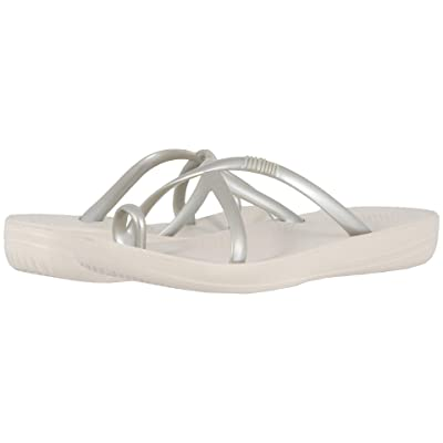 FitFlop Iqushion Wave (Silver Pearlised) Women