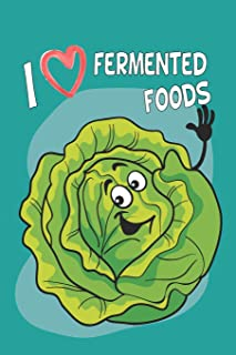 Fermented Recipe Book: Recipe Pages Waiting To Be Filled With Your Kombucha, Kefir, Kimchi, Sauerkraut & Fermented Whole Food Recipes