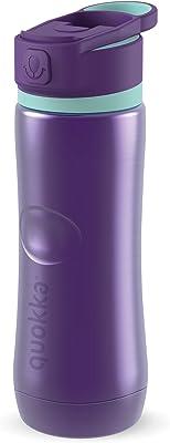 Quokka Stainless Steel Bottle Spring Aqua Violet 600 ml Pack of 2