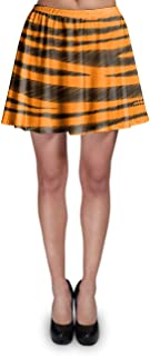 Rainbow Rules Tigger Stripes Winnie The Pooh Inspired Skater Skirt