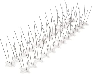 ALEC ステンレス針とげマット 24cm×12個入 鳥よけ 鳩よけ カラスよけ対策に