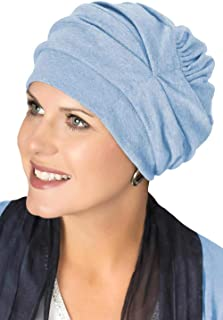 bc02be9580f Headcovers Unlimited Trinity Turban-Caps for Women with Chemo Cancer Hair  Loss
