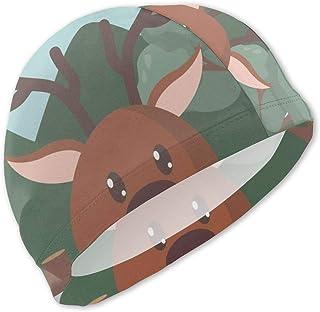 Gorro de baño Deer Cute para niños Gorro de baño para niños