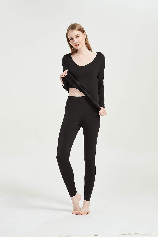 CLC Women's Mulberry Silk Thermal Underwear Pajama Set