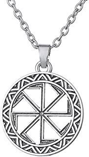 Viking Sun de roue Slave Slavic symbole Amulette pendentifs pour collier bijoux