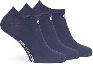 ANKLE Low Cut - Calcetines de tenis para hombre, 3 unidades, color liso