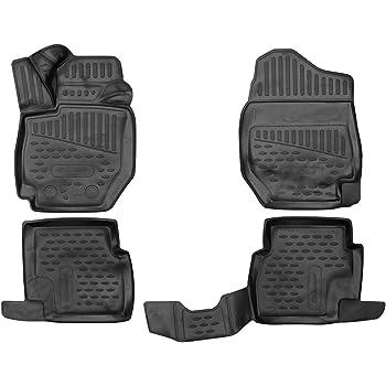 Passform Element EXP.CARHYN00001 3D Passgenaue Premium Antirutsch Gummimatten Fu/ßmatten Hyundai Tucson 2015- Schwarz