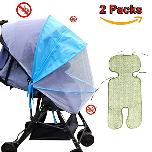 KIMYO Full Cover Baby Mosquito Net for Strollers Portable Durable /& long lasting Insect Netting-universal 150cm 47 X 59 inch