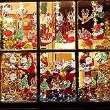 Matogle 7 Stück Weihnachten Girland Banner hängende Papiergirlande Merry Christmas Papier Santa Banner Weihnachtsmann Wimpelkette Schneemann Cartoon Deko für Weihnachten Neues Jahr Party DIY Deko - 4
