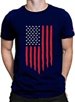 Graphic Printed T-Shirt for Men & Women | USA Flag T-Shirt | Half Sleeve T-Shirt | Round Neck T Shirt | 100% Cotton...