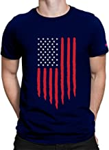 PrintOctopus Graphic Printed T-Shirt for Men & Women   USA Flag T-Shirt   Half Sleeve T-Shirt   Round Neck T Shirt   100% Cotton T-Shirt   Short Sleeve T Shirt