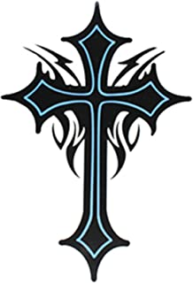 SPESTYLE waterproof non-toxic temporary tattoo stickersExtra large size cross totem temporary tattoos 8.66