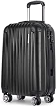"20"" Luggage Suitcase Trolley Travel Carry On Bag Hard Case Lightweight"