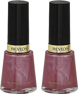 Revlon Nail Enamel, Iced Mauve 0.50 oz (Pack of 2)