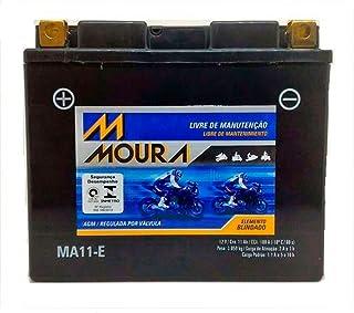 Bateria Moura Ma11-e Zx10r Fazer 600 Fz6 Drag Star 650