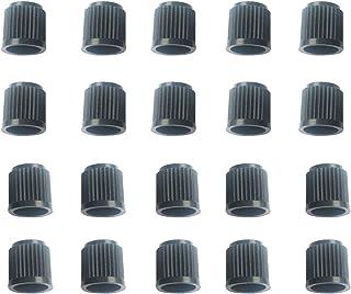 Color : Black Ventilkappen 4ST Reifen Reifen-Rad-Stem Luftventil-Kappen-Auto-LKW-Motorrad Ventildeckel
