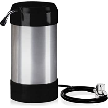 cleanwater4less Countertop Water Filtration System - No Plumbing Water Filter - Faucet Adapter