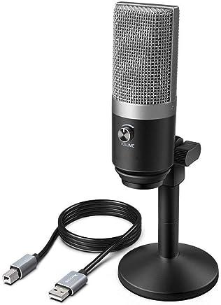 Microfono USB per laptop e computer Mac per la registrazione Streaming Twitch Voice over Podcasting per Youtube Skype K670 (Color : Black) - Trova i prezzi più bassi