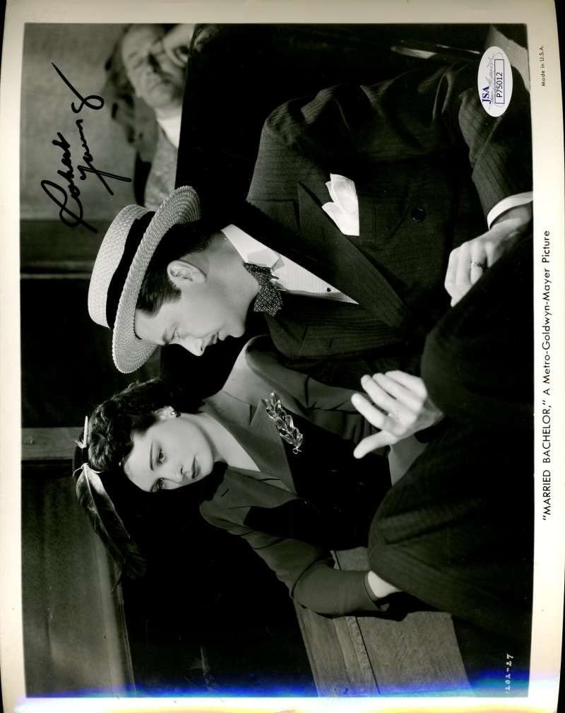 ROBERT Import YOUNG MARRIED BACHELOR JSA COA PHOTO AUT Popular brand in the world SIGNED HAND 8X10