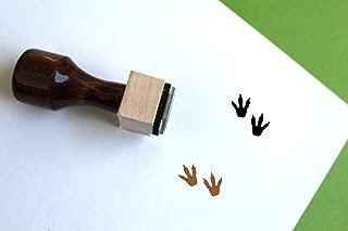 Parasaurolophus Wooden Rubber Stamp (1