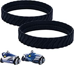 ExcelFu 2 Pack R0526100 Track Replacement for Baracuda MX8/MX6 In-Ground Pool Cleaner, Made of Premium, Heavy Duty Rubber